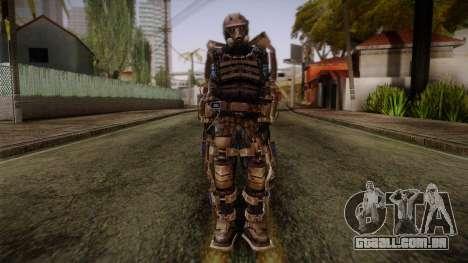 Mercenaries Exoskeleton para GTA San Andreas