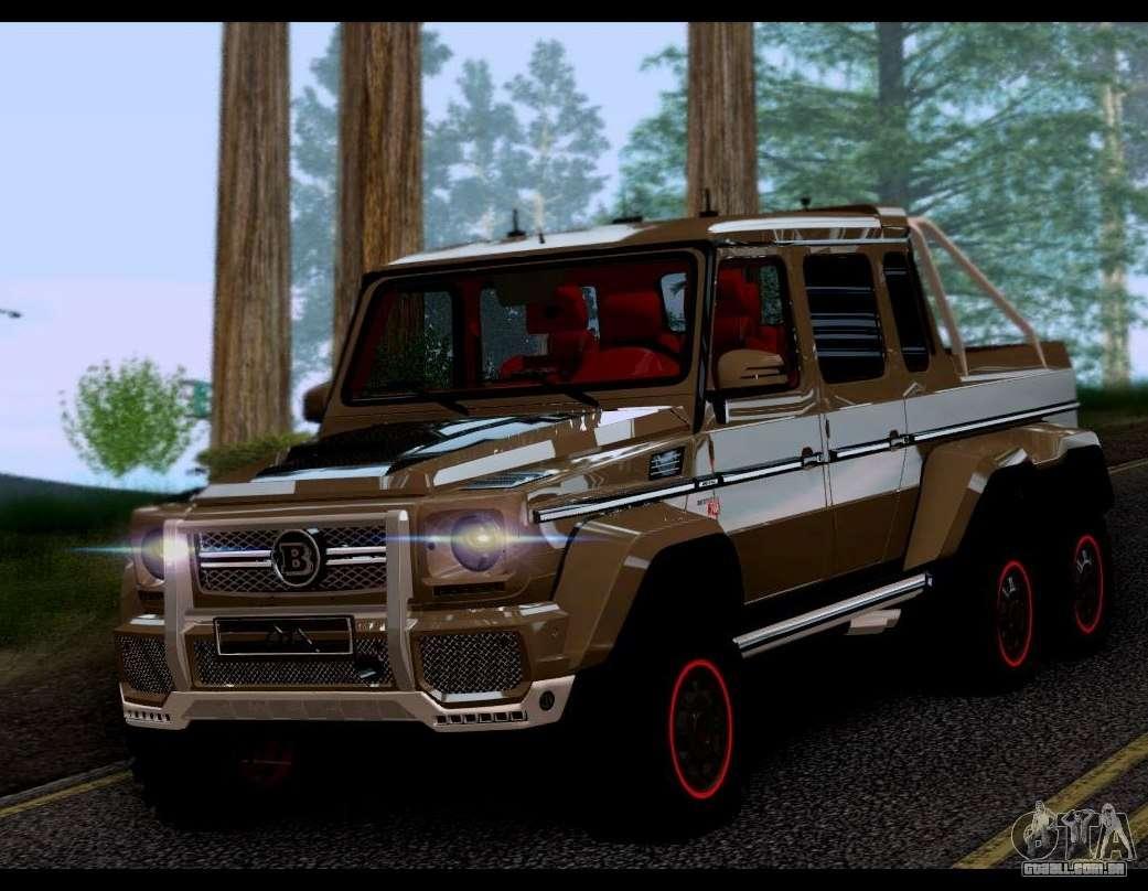 Brabus 700 Mercedes Benz G63 Amg 6x6 Para Gta San Andreas