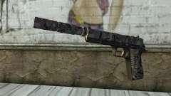 Nova Pistola com um Silenciador para GTA San Andreas