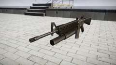 Rifle M16A2 M203 sight3 para GTA 4