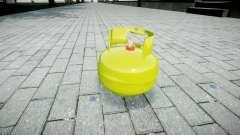 Romã-cilindro de Gás-