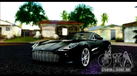 Aston Martin One-77 Beige Black para GTA San Andreas