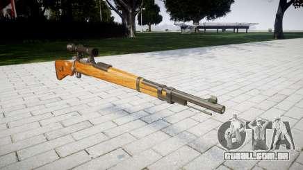 A revista rifle Karabiner 98k para GTA 4