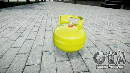Romã-cilindro de Gás- para GTA 4