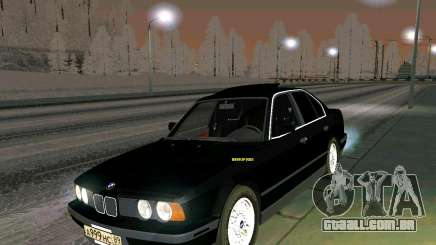 BMW 535i Stock para GTA San Andreas