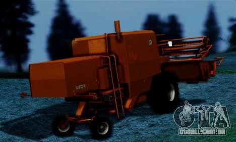 FMZ BIZON Super Z056 1985 Orange para GTA San Andreas esquerda vista