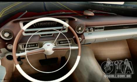 Cadillac Eldorado Biarritz Convertible 1959 para GTA San Andreas