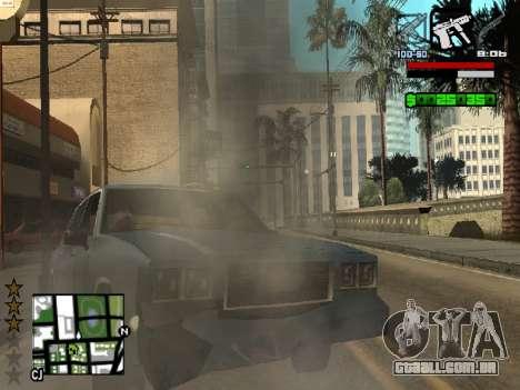 Nice C-HUD para GTA San Andreas por diante tela