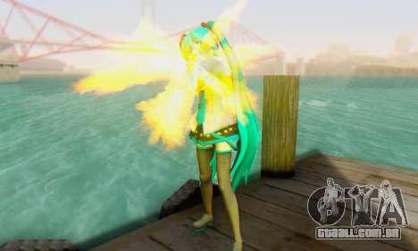 Hatsune Miku Dreamy Theater para GTA San Andreas terceira tela