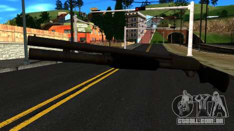 Preto MP-133 Sem Brilho para GTA San Andreas