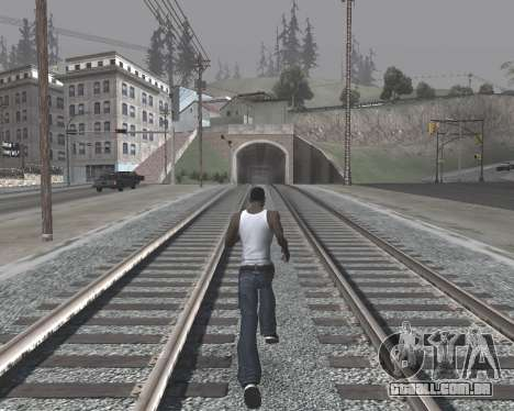 Colormod High Black para GTA San Andreas quinto tela