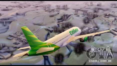 Citilink Airbus A320 PK-GLV para GTA San Andreas