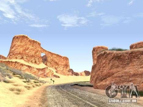 Real California Timecyc para GTA San Andreas por diante tela