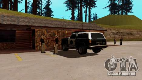 Recuperação de estações de San Fierro País para GTA San Andreas oitavo tela