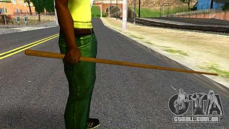 Poolcue from GTA 4 para GTA San Andreas terceira tela