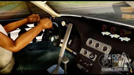 Ford Mustang 1965 Ken Block para GTA San Andreas traseira esquerda vista