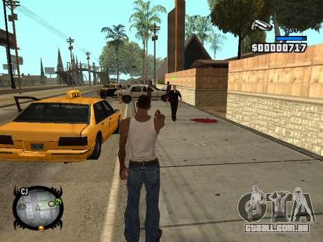 HUD by LMOKO para GTA San Andreas terceira tela