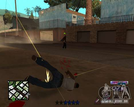 COSMOS C-HUD para GTA San Andreas terceira tela
