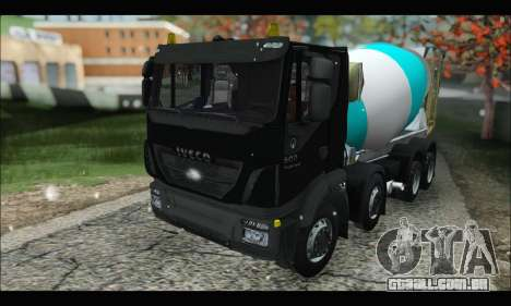 Iveco Trakker 2014 Concrete Snow (IVF & ADD) para GTA San Andreas
