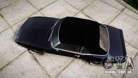 Chevrolet Camaro Mk.I 1968 rims2 para GTA 4 vista direita