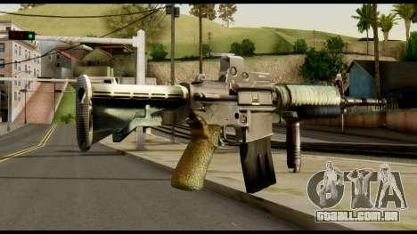 SOPMOD from Metal Gear Solid v3 para GTA San Andreas segunda tela