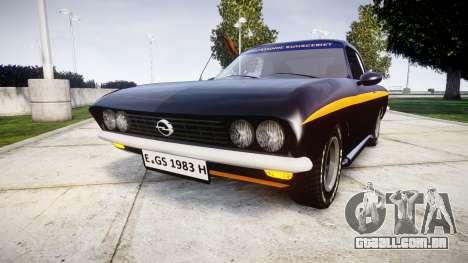 Opel Manta A Black Magic para GTA 4