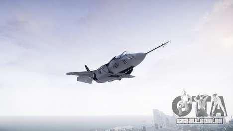 Lockheed F-35B Lightning II para GTA 4 traseira esquerda vista