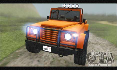 Canis Bodhi (GTA V) (FIV & АПП) para GTA San Andreas