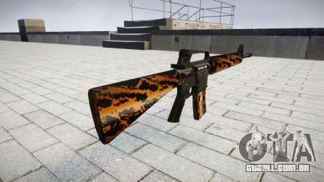 O M16A2 rifle tigre para GTA 4 segundo screenshot