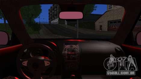 Nissan Juke 2012 para GTA San Andreas traseira esquerda vista