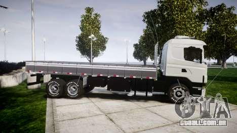 Scania 124G 400 para GTA 4 esquerda vista