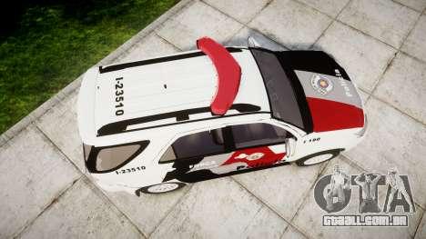 Toyota Hilux SW4 2015 Forca Tatica [ELS] para GTA 4 vista direita