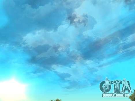 Céu realista para GTA San Andreas segunda tela