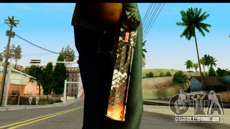 Kill Em All Desert Eagle para GTA San Andreas terceira tela