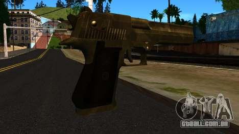 Desert Eagle from GTA 4 para GTA San Andreas segunda tela