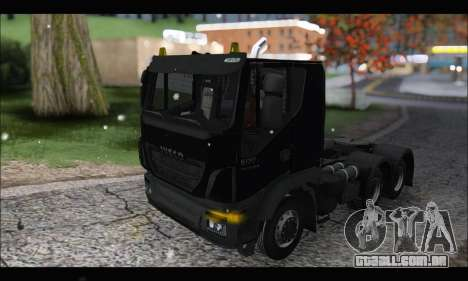 Iveco Trakker 2014 Snow (IVF & ADD) para GTA San Andreas