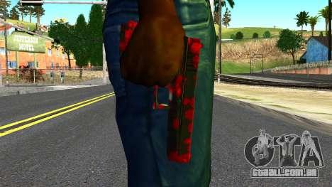 Pistol with Blood para GTA San Andreas terceira tela