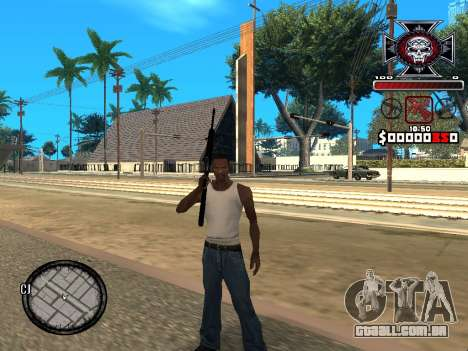 C-HUD for Ghetto para GTA San Andreas