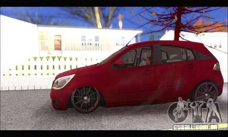 Chevrolet Agile Tunning para GTA San Andreas vista traseira