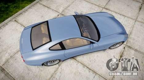 Ferrari 612 2007 Hamann para GTA 4 vista direita