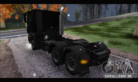 Iveco Trakker 2014 Snow (IVF & ADD) para GTA San Andreas