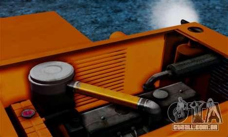 FMZ BIZON Super Z056 1985 Orange para GTA San Andreas vista interior