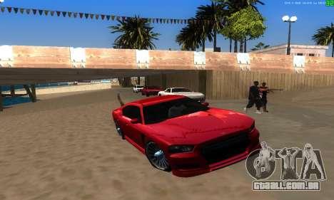 Novas rotas de transporte para GTA San Andreas nono tela