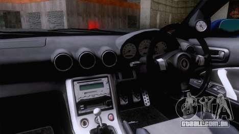 Nissan Silvia S15 Stock para GTA San Andreas traseira esquerda vista