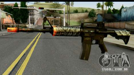 Kill Em All M4 para GTA San Andreas