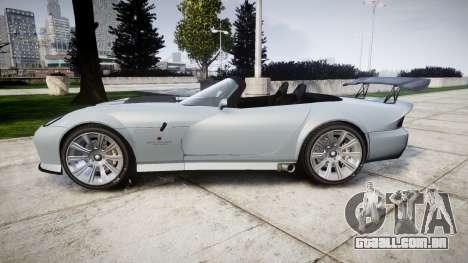 Bravado Banshee GTR para GTA 4 esquerda vista