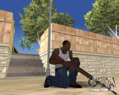 HD Weapon Pack para GTA San Andreas nono tela