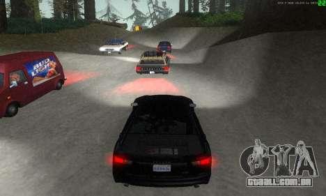 Novas rotas de transporte para GTA San Andreas décimo tela