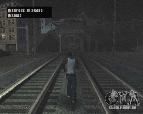 Colormod High Black para GTA San Andreas décima primeira imagem de tela