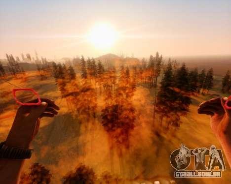 ENB_OG v2 para GTA San Andreas por diante tela
